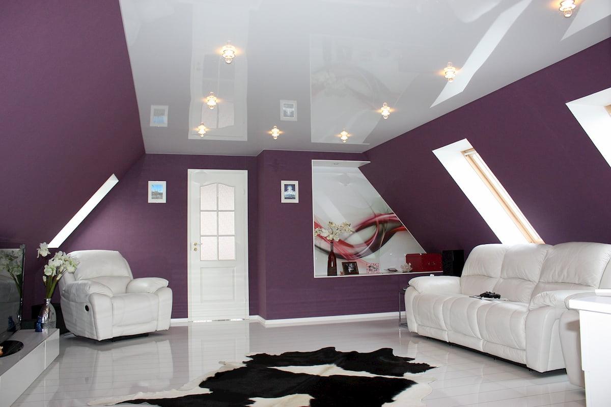 Глянцевый потолок #1