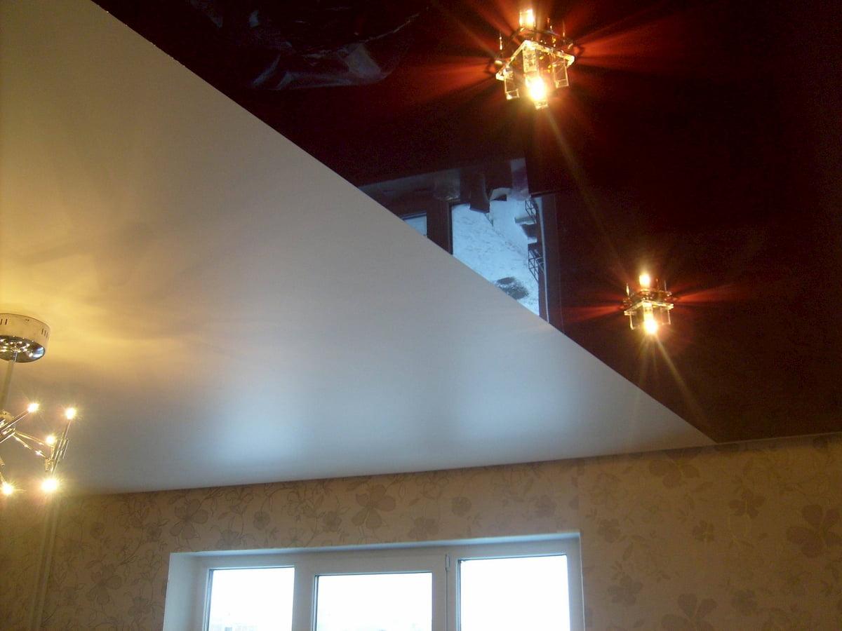 Двухцветный потолок #2