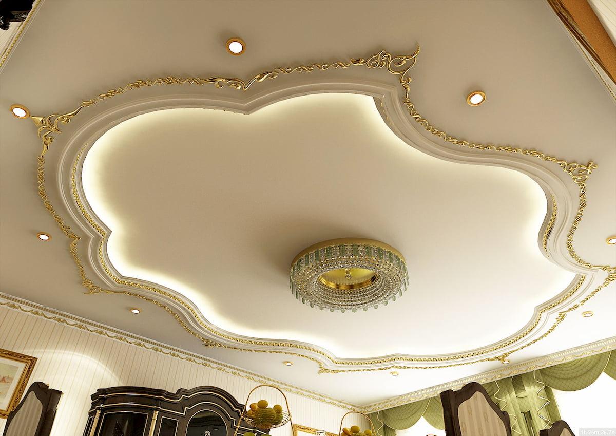 Классический потолок #1
