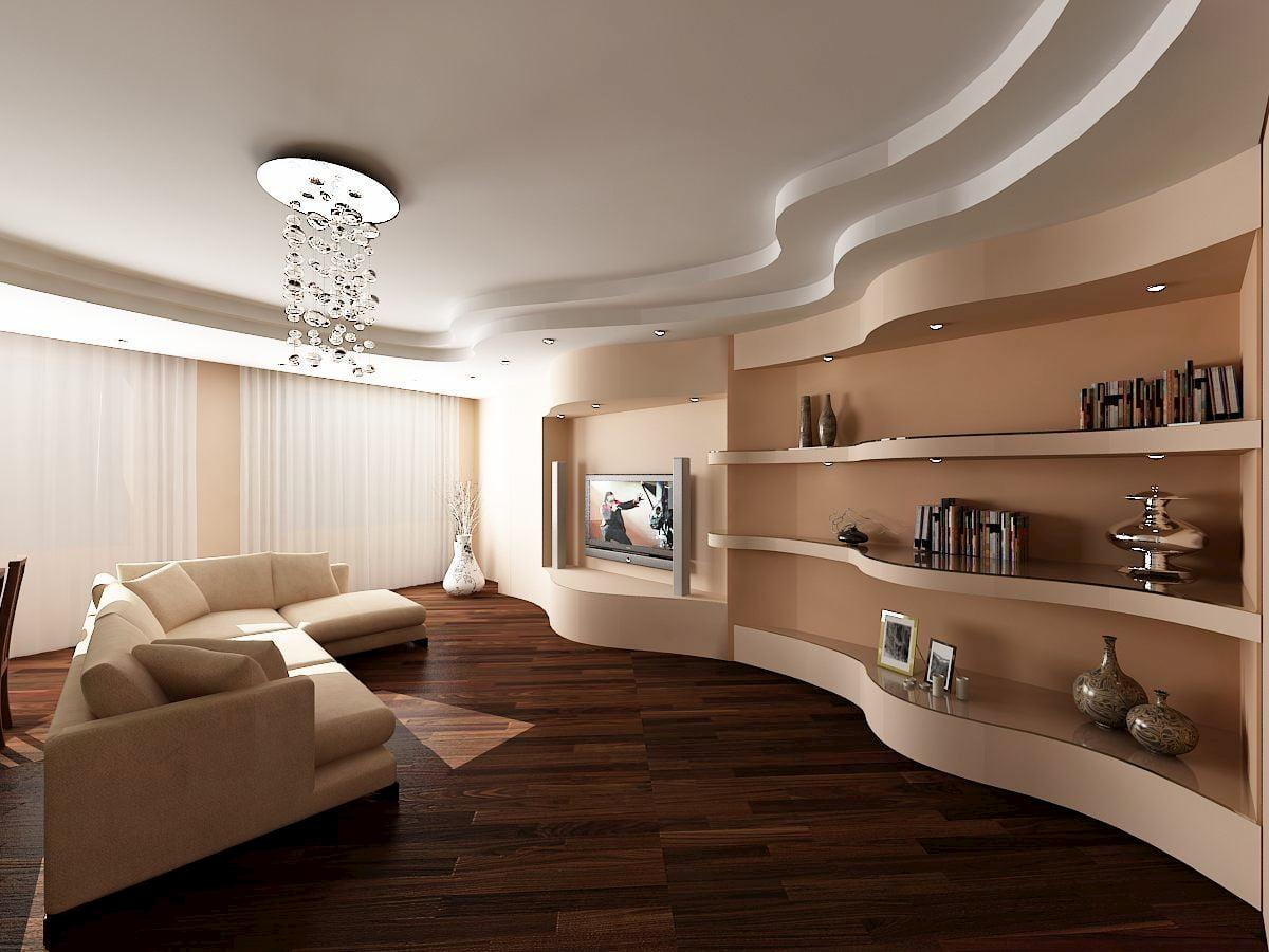Современный потолок #1