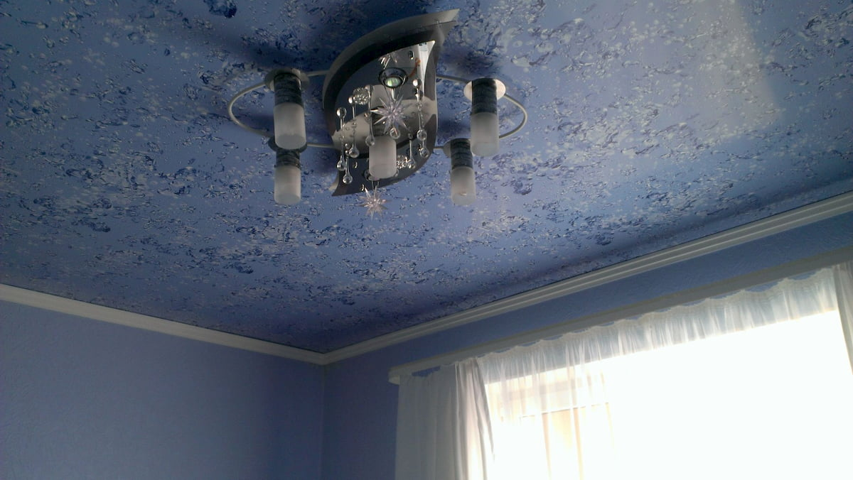Фактурный потолок #1