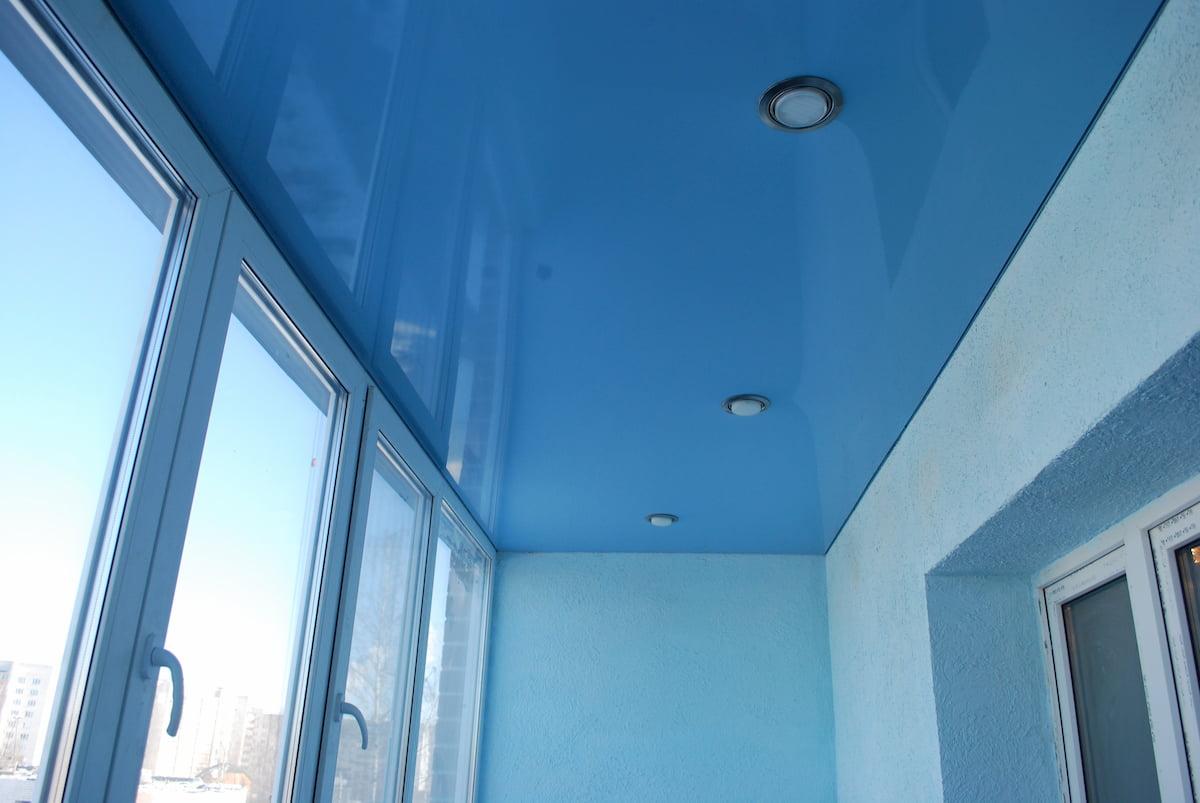 Потолок для балкона #1