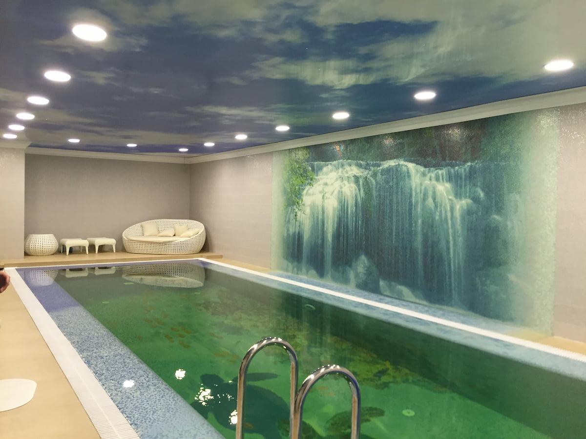 Потолок для бассейна #1