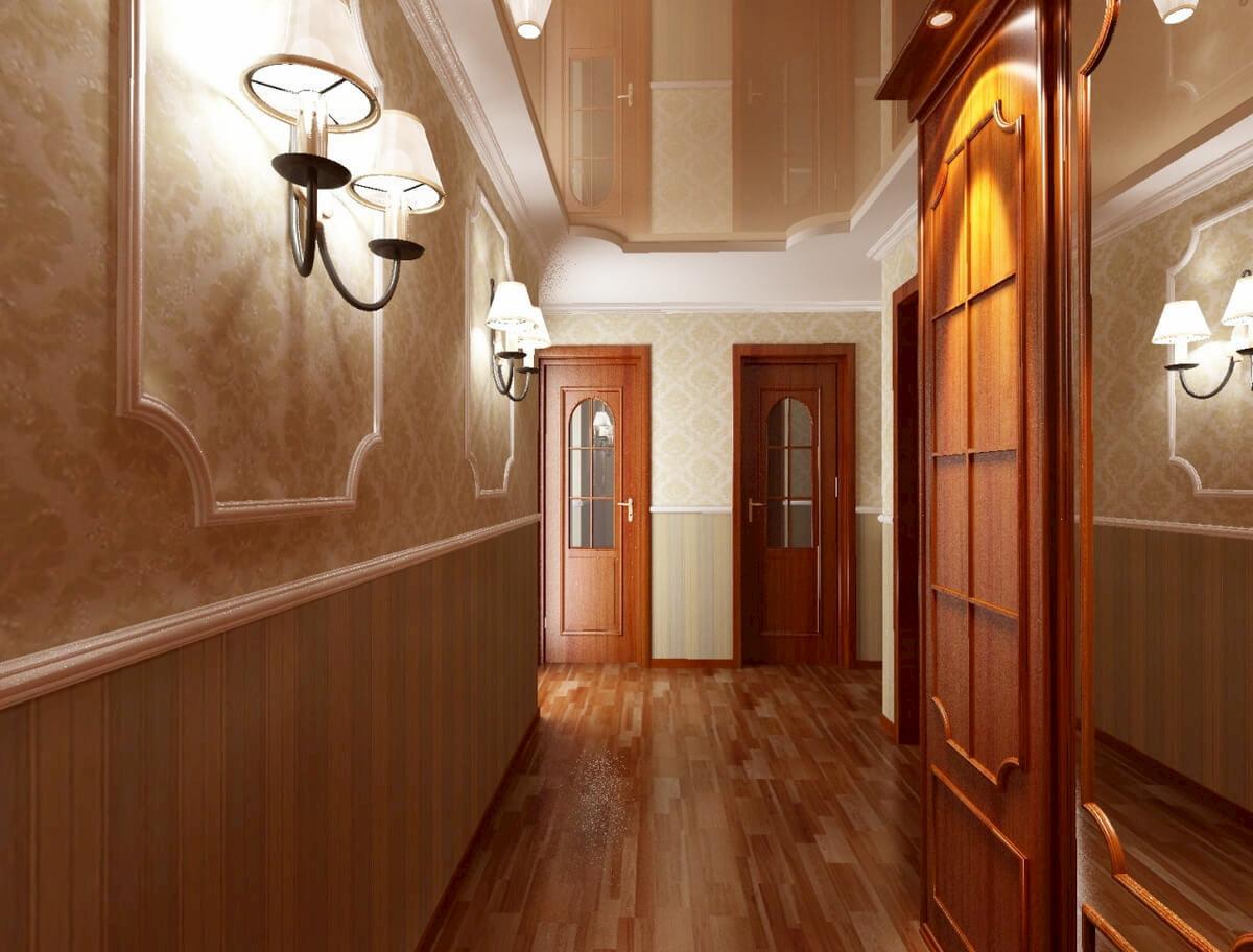 Потолок для коридора #1