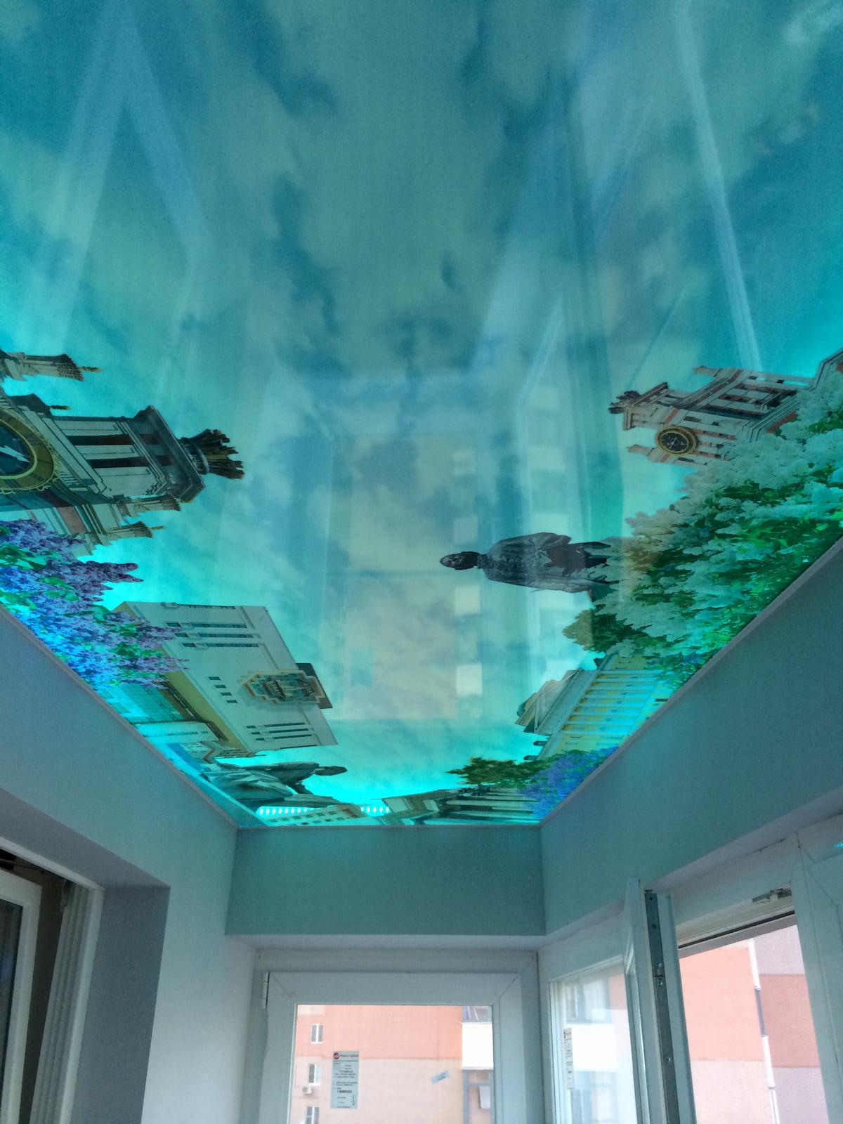 Арт потолок #1