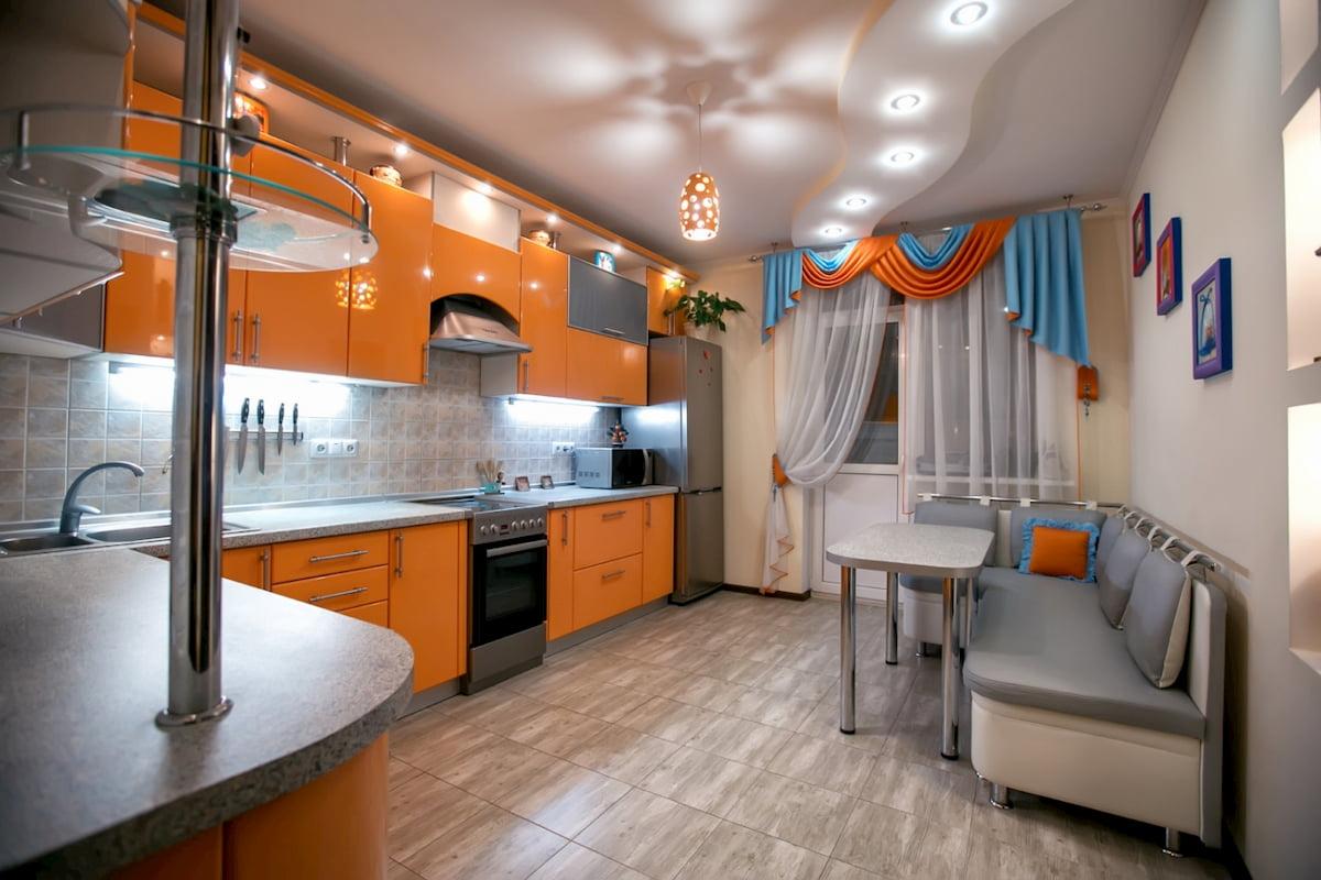 Потолок для кухни #1