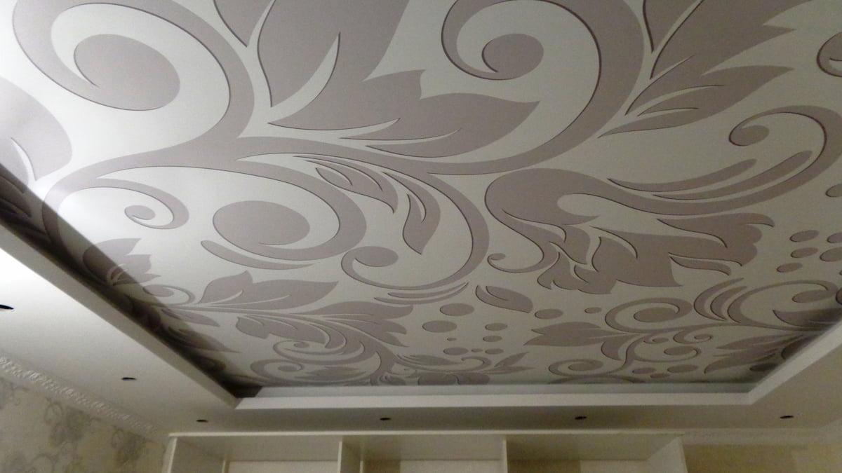 Тканевый потолок #1
