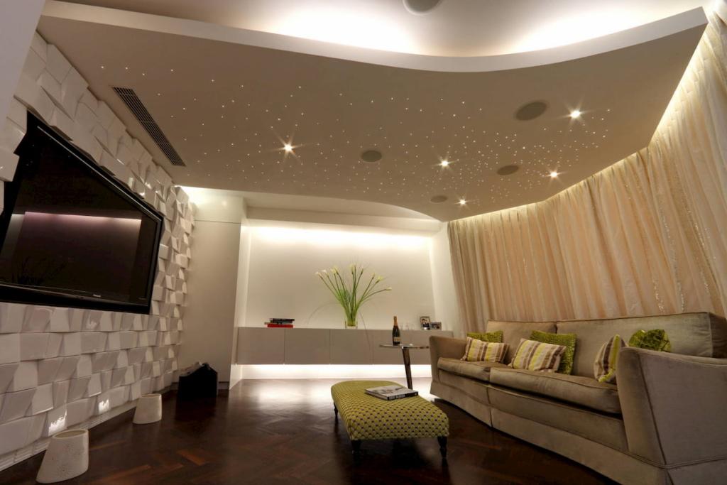 Натяжные потолки для дома