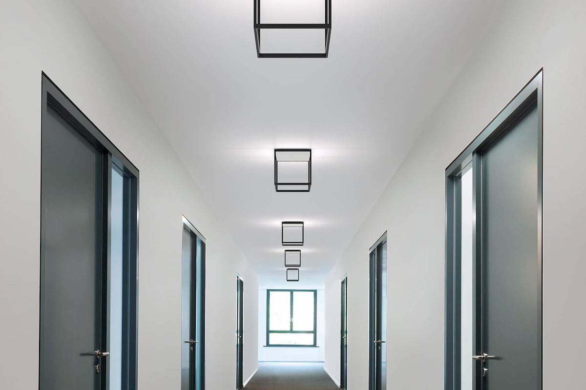 Безщелевой потолок #1