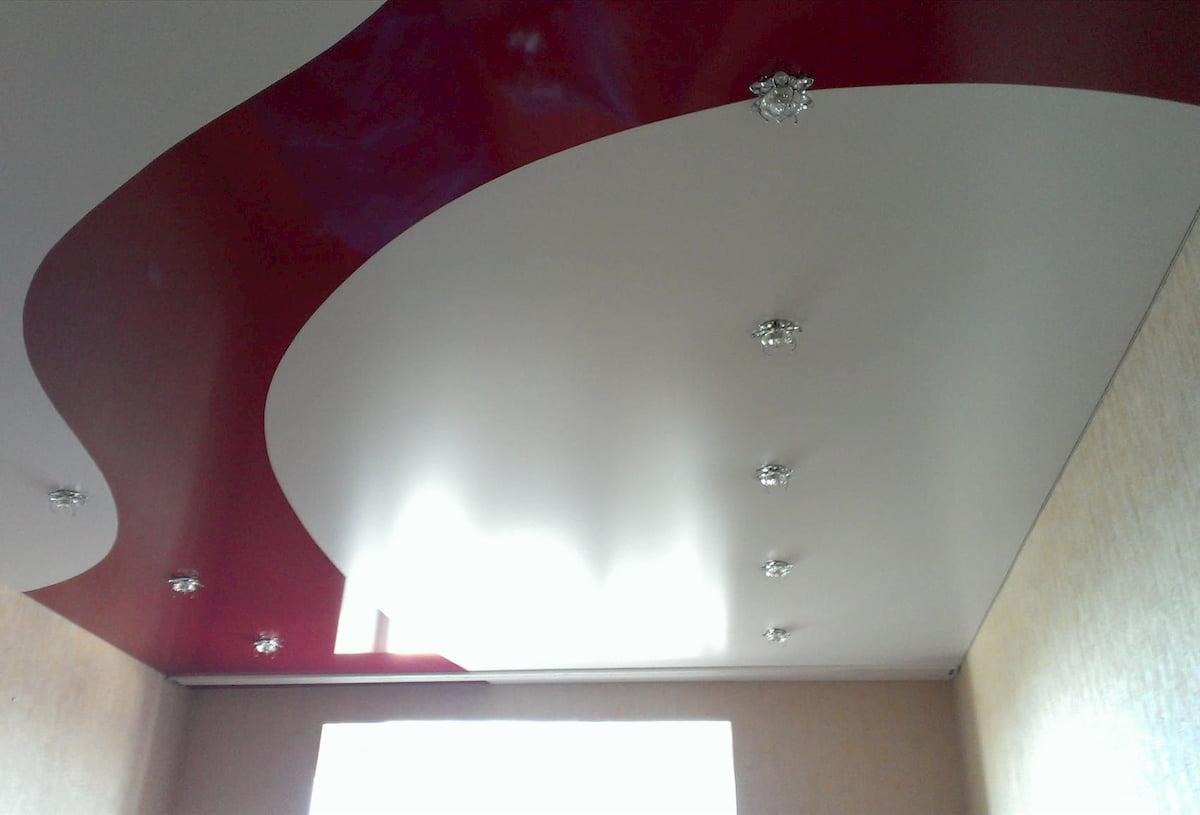 Криволинейный потолок #10
