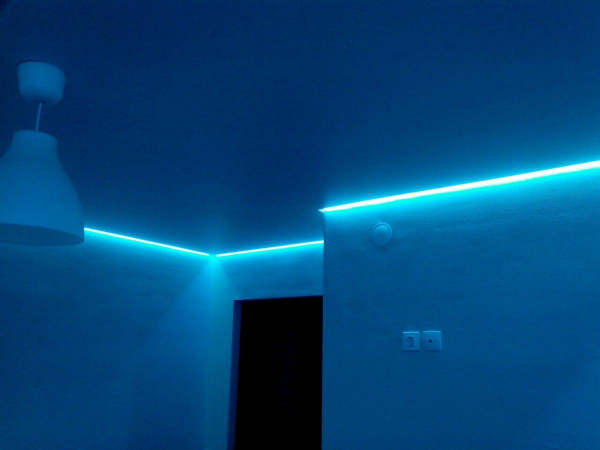 Светодиодный потолок с LED подсветкой #10