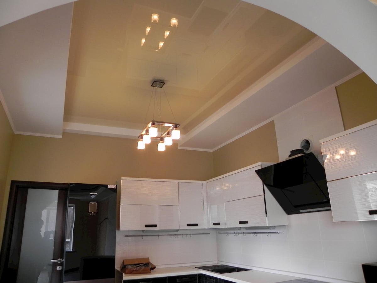 Потолок для кухни #10