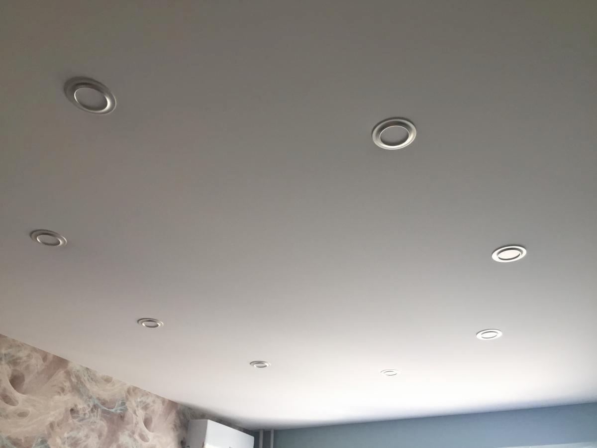 Тканевый потолок #10