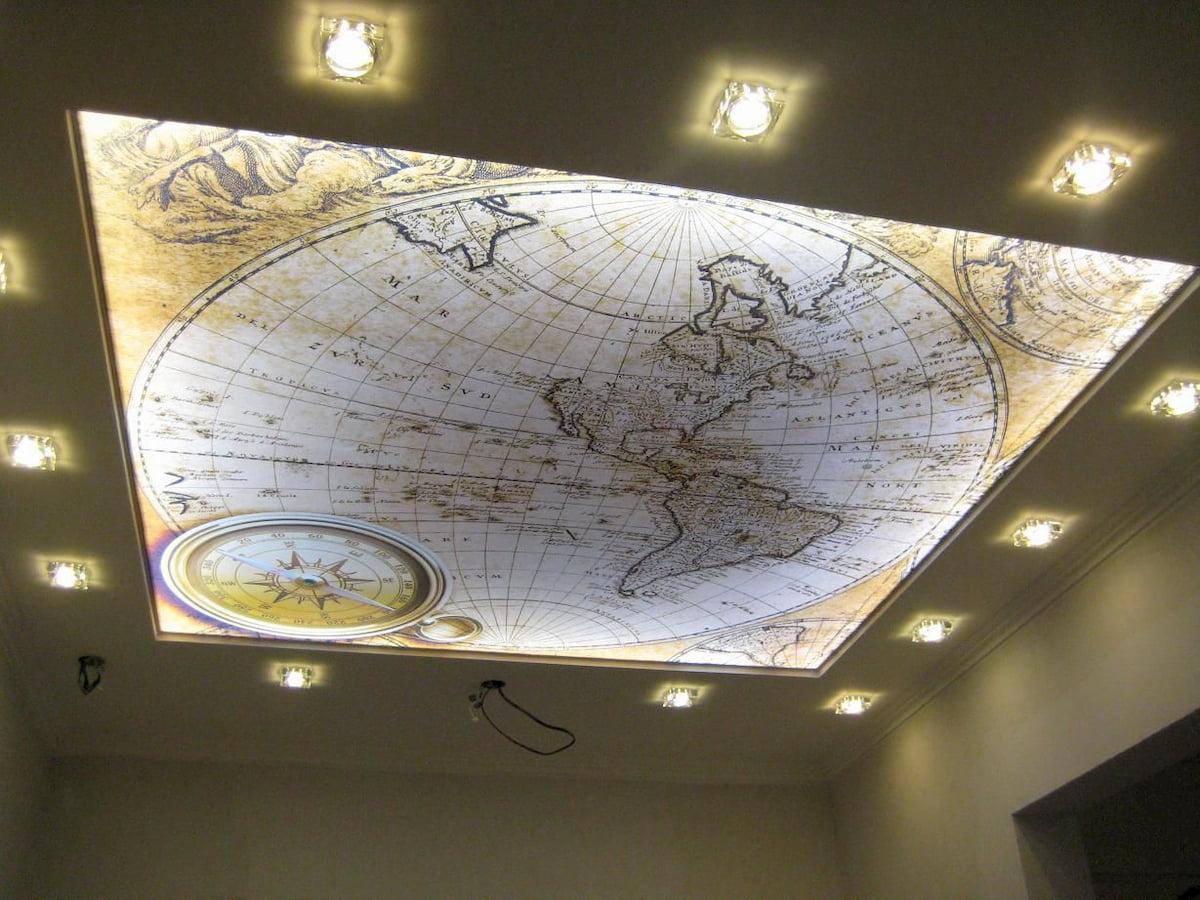 Светящийся изнутри потолок #10