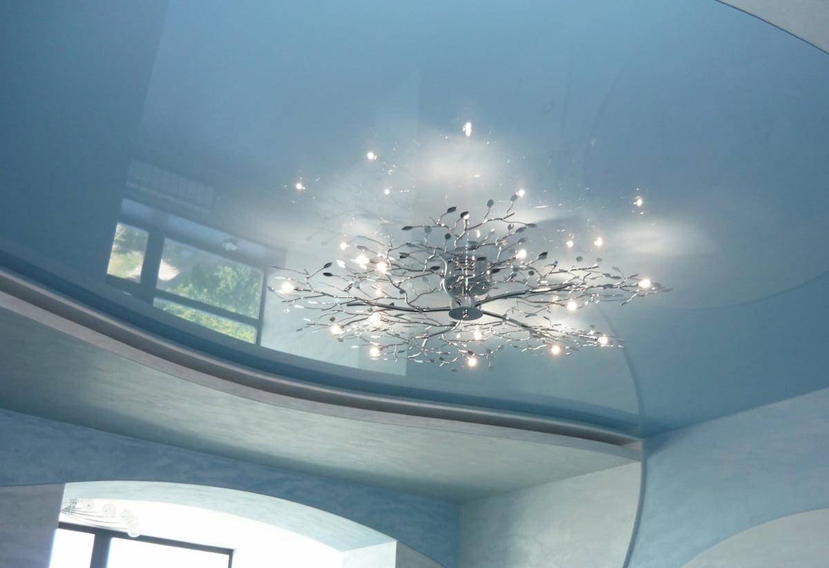 Глянцевый потолок #11