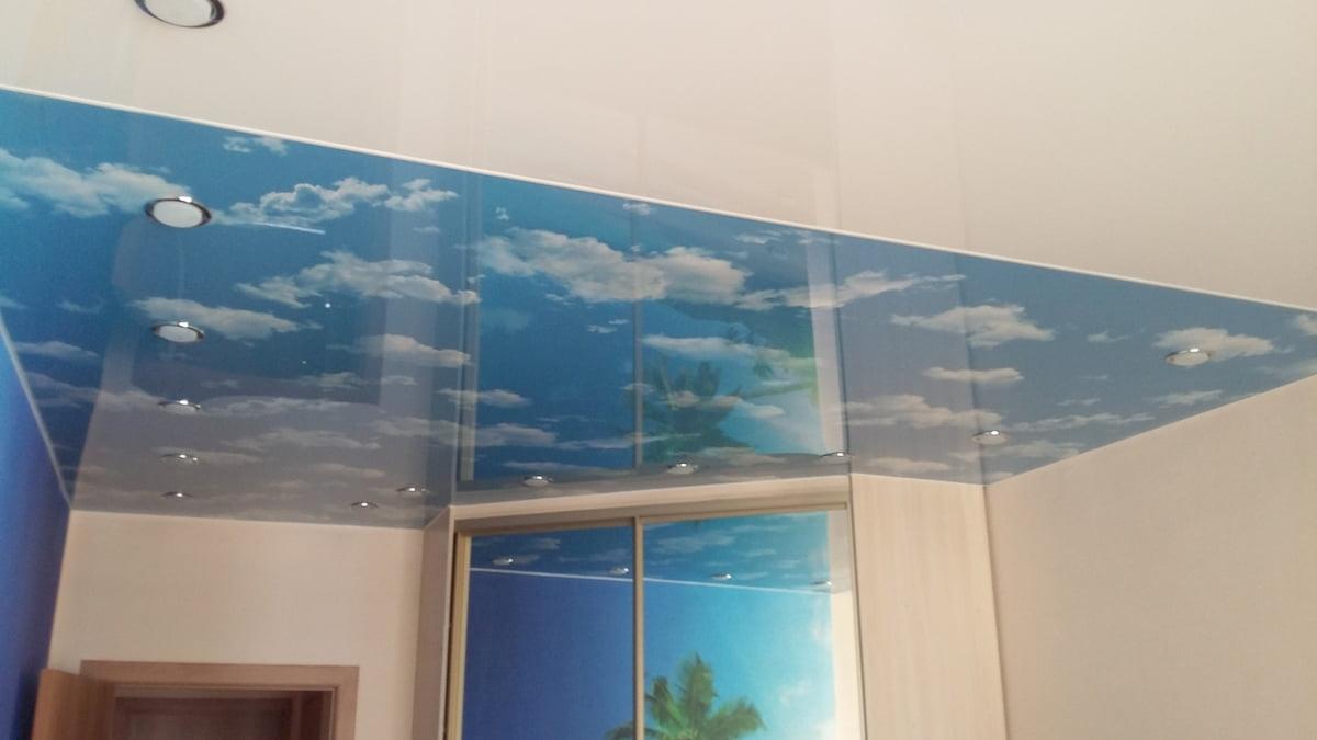 Потолок «Небо с облаками» #11