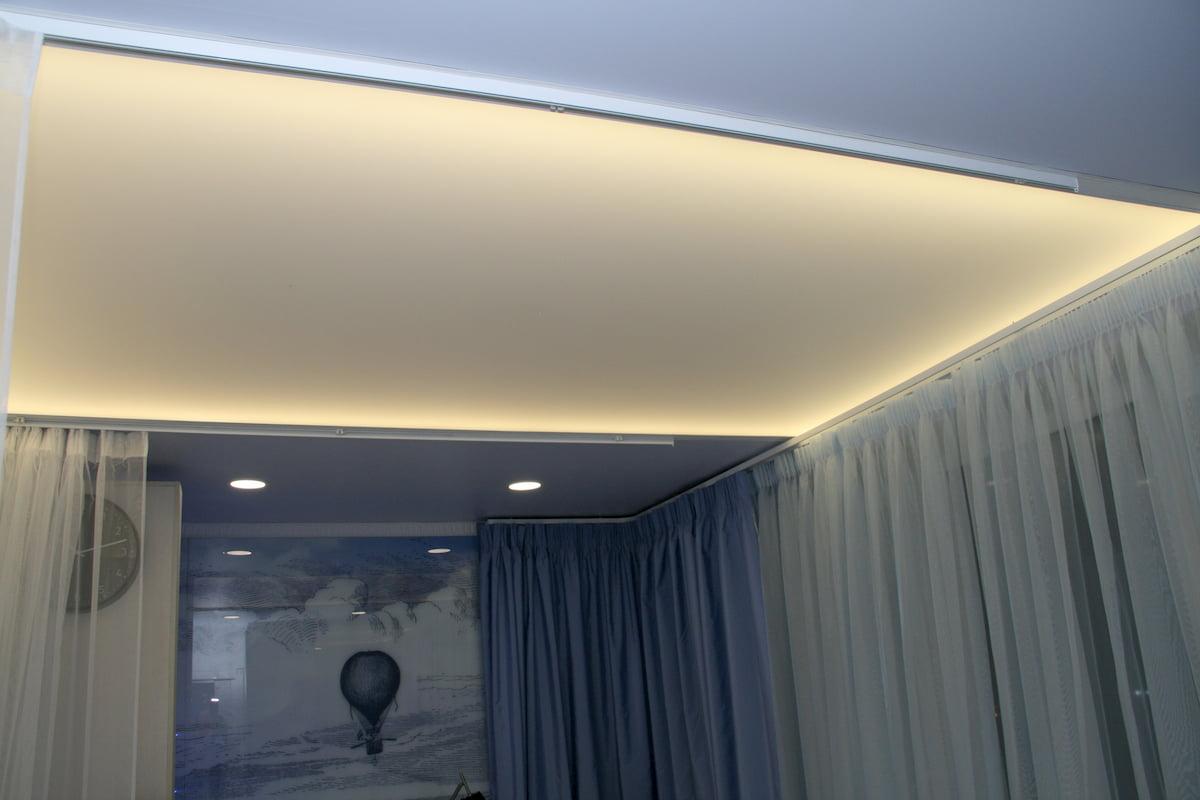 Светодиодный потолок с LED подсветкой #11
