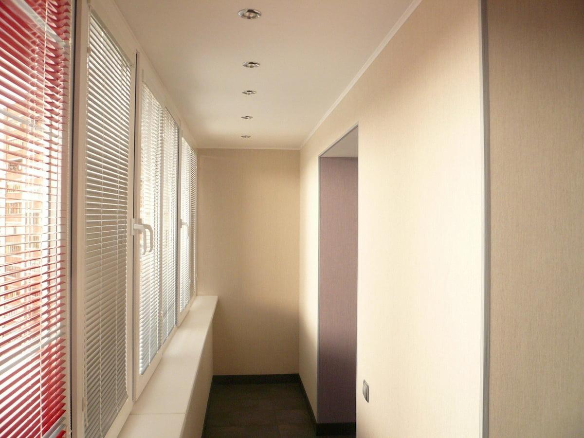Потолок для балкона #11