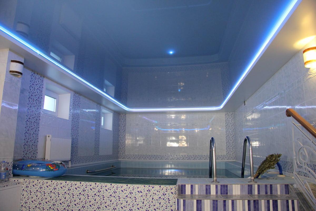 Потолок для бассейна #11