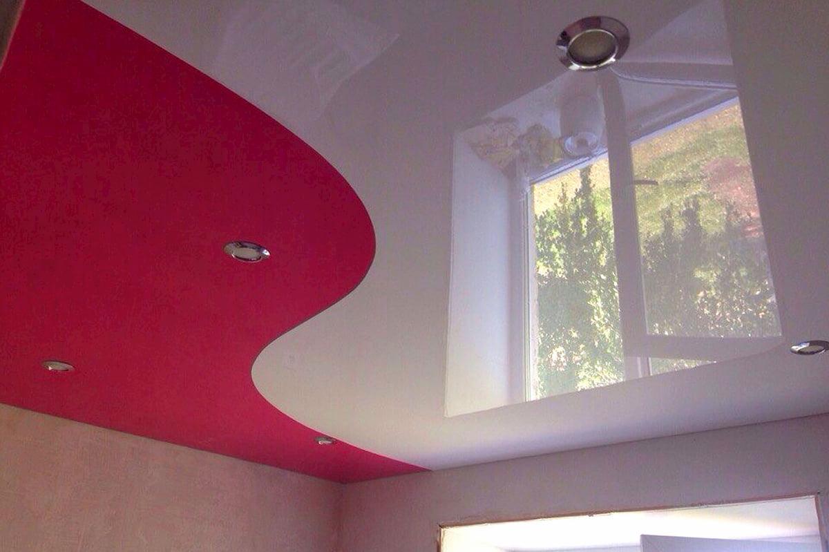 Криволинейный потолок #12