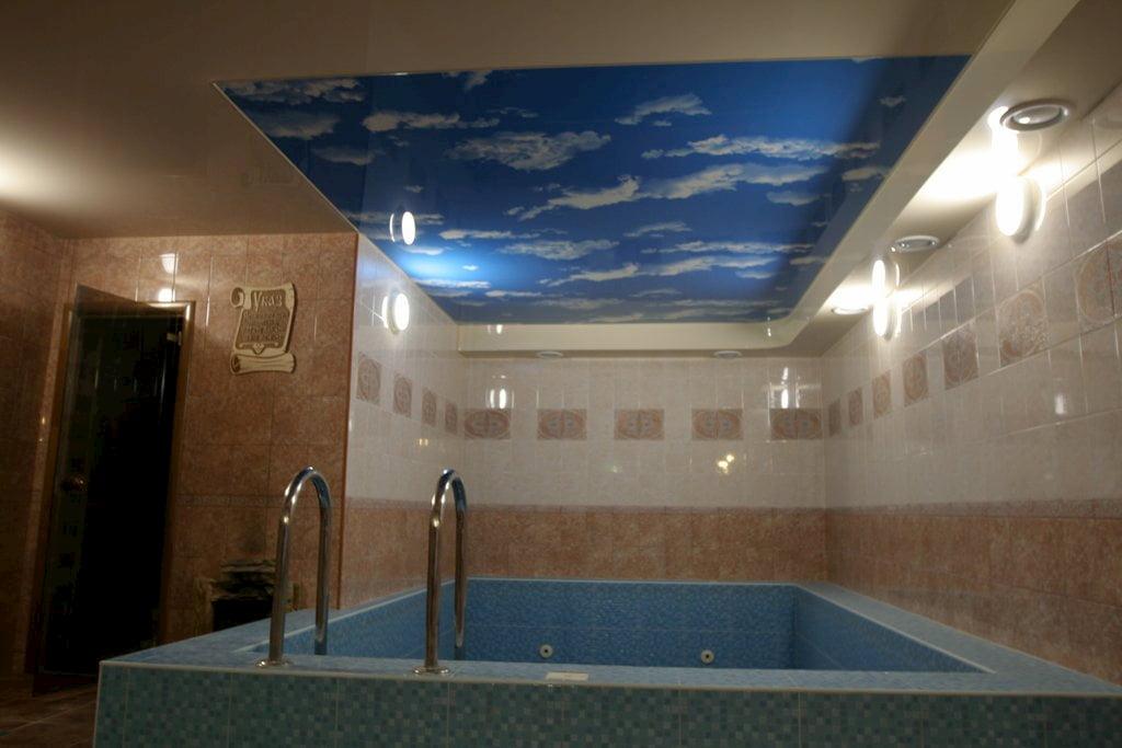 Потолок для бассейна #12