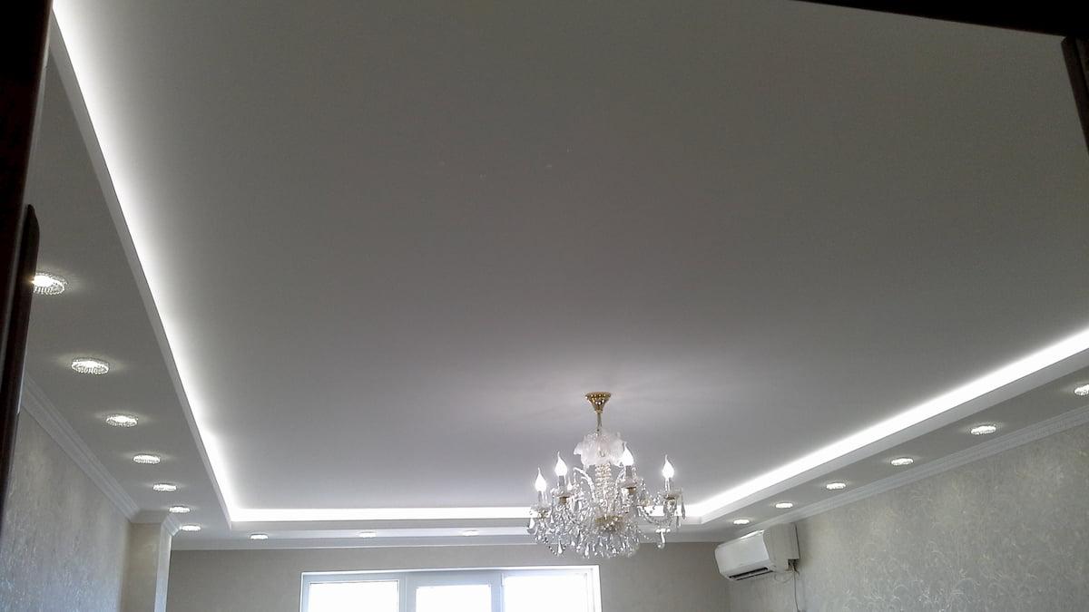 Матовый потолок #12
