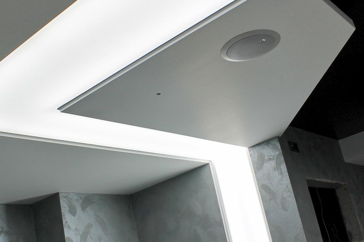 Светящийся изнутри потолок #12