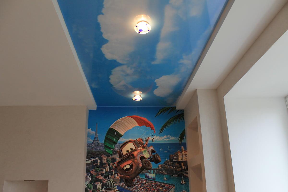 Потолок «Небо с облаками» #13