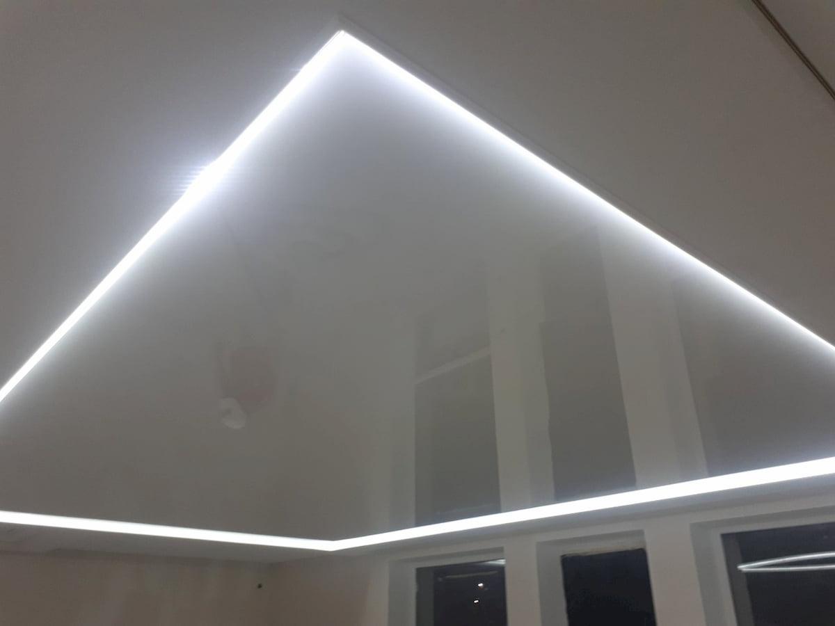Светодиодный потолок с LED подсветкой #13