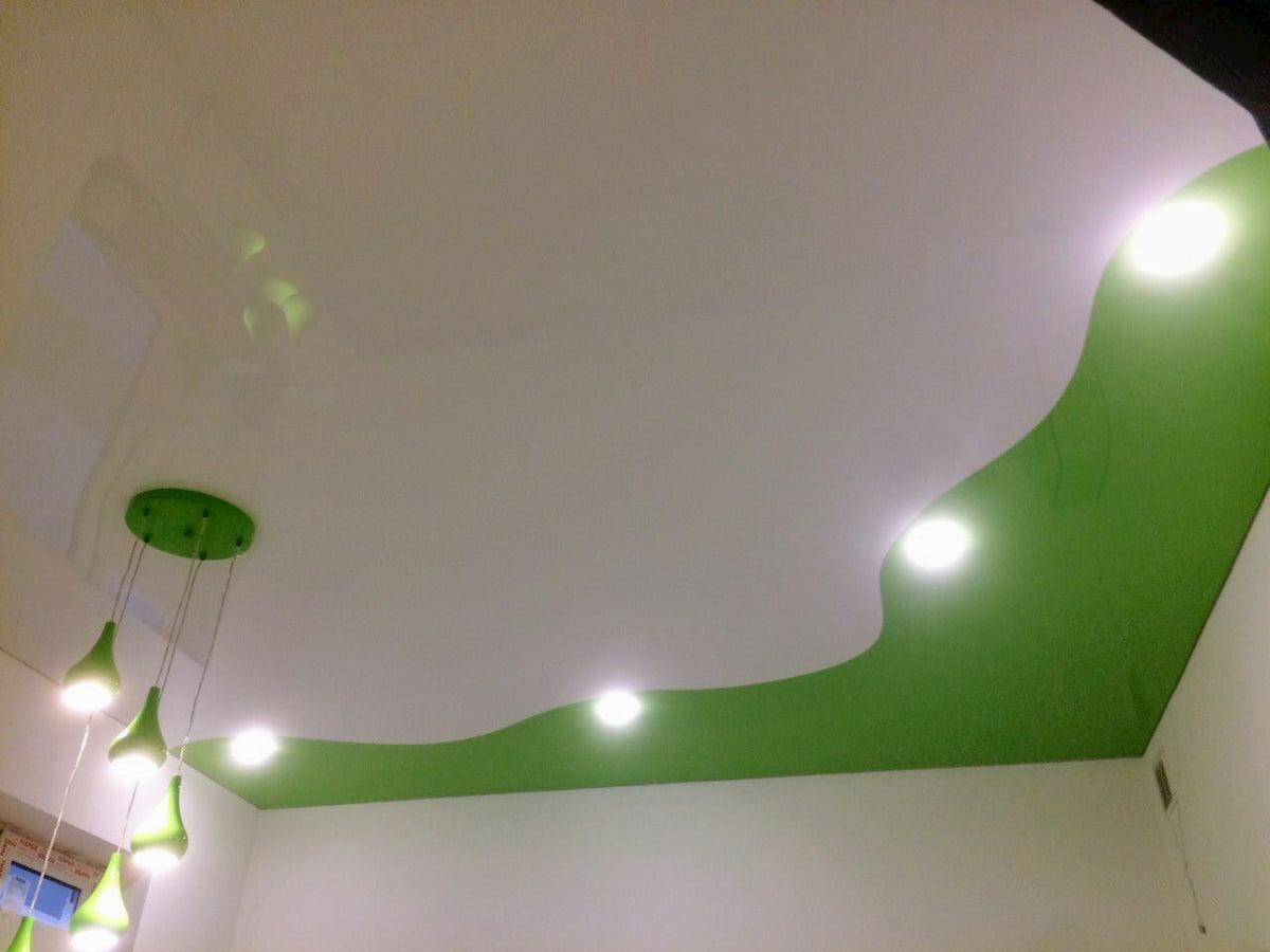 Криволинейный потолок #13