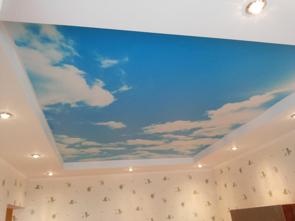 Потолок «Небо с облаками» #14