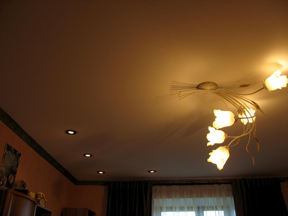Тканевый потолок #13