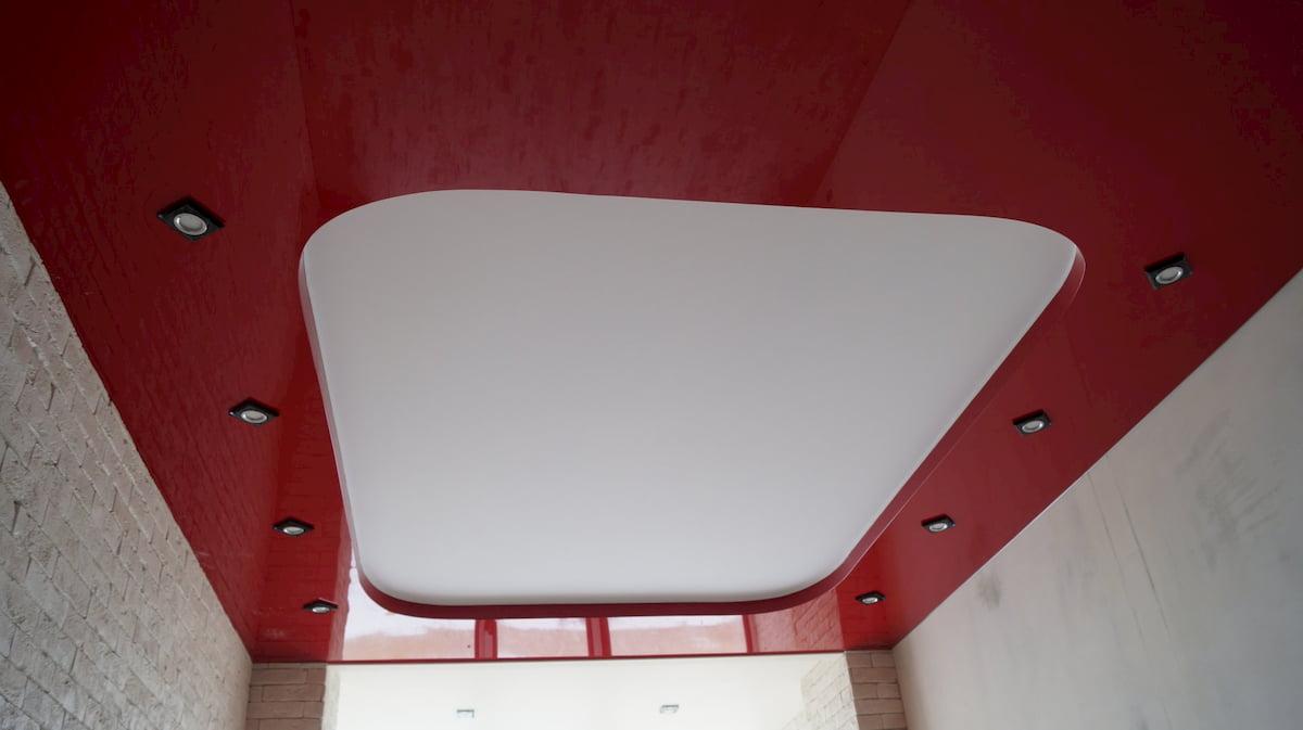 Двухуровневый потолок #14