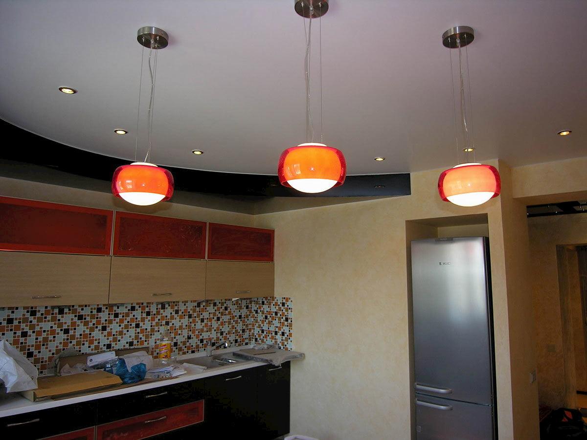Потолок для кухни #15