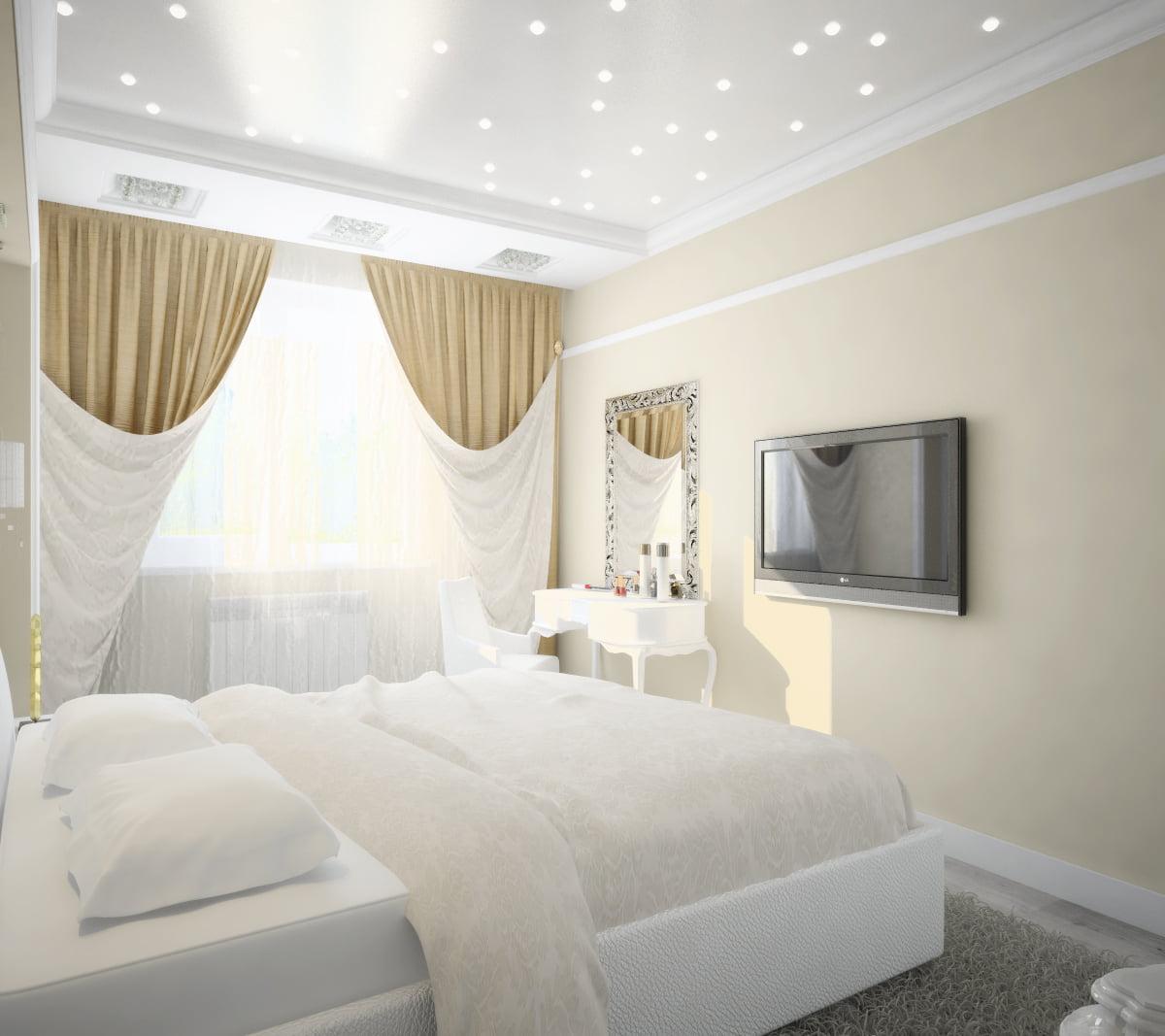 Потолок для спальни #15