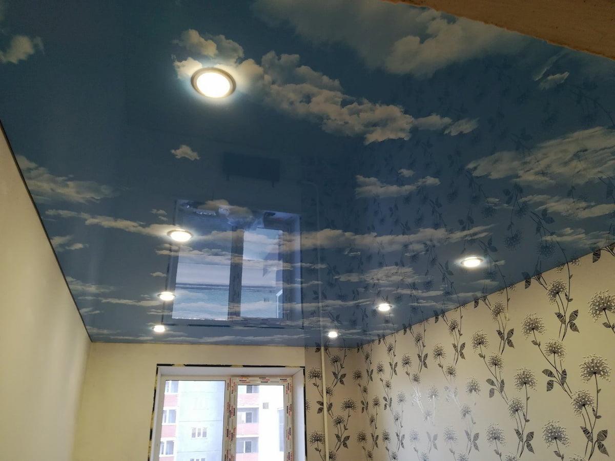Потолок «Небо с облаками» #16