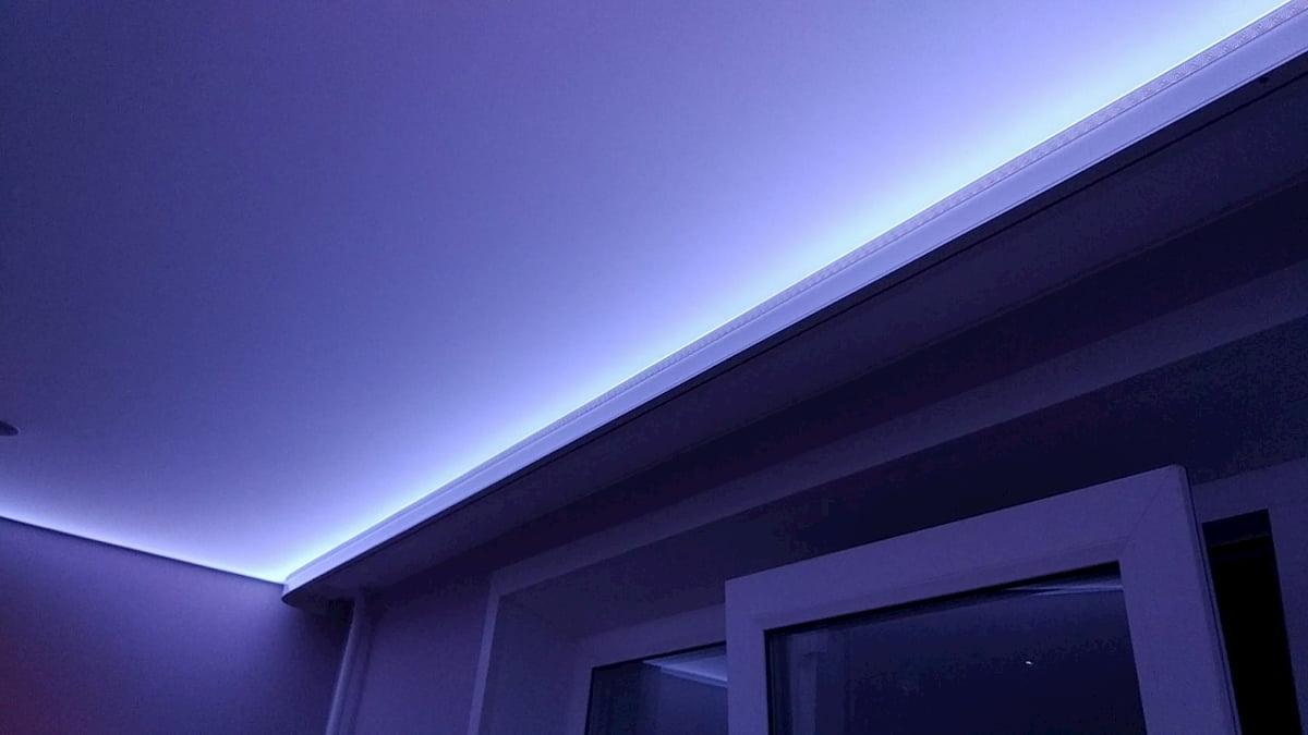 Светодиодный потолок с LED подсветкой #16