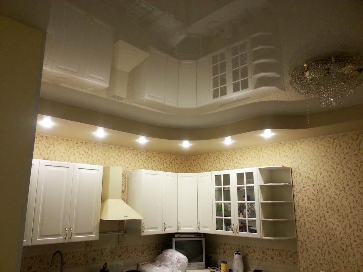 Потолок для кухни #16