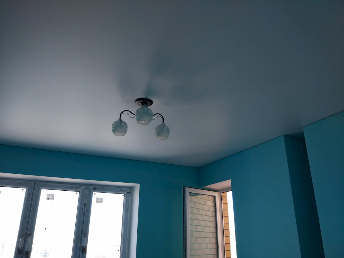Сатиновый потолок #16