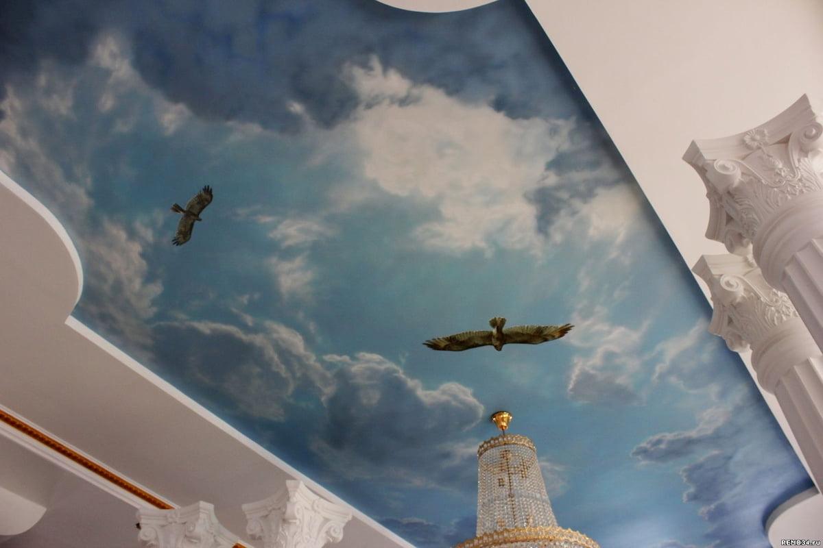 Потолок «Небо с облаками» #17