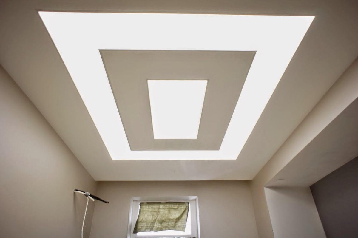Светящийся изнутри потолок #17