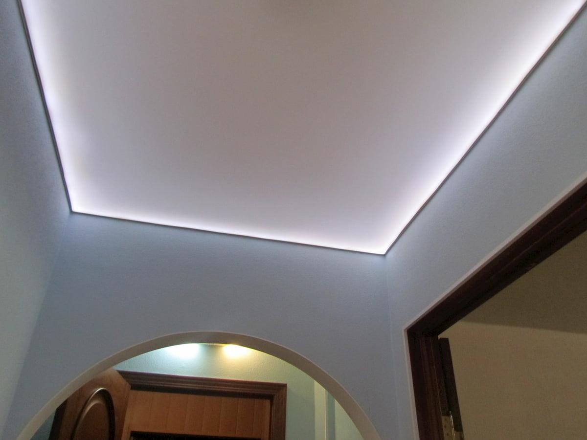 Светодиодный потолок с LED подсветкой #18