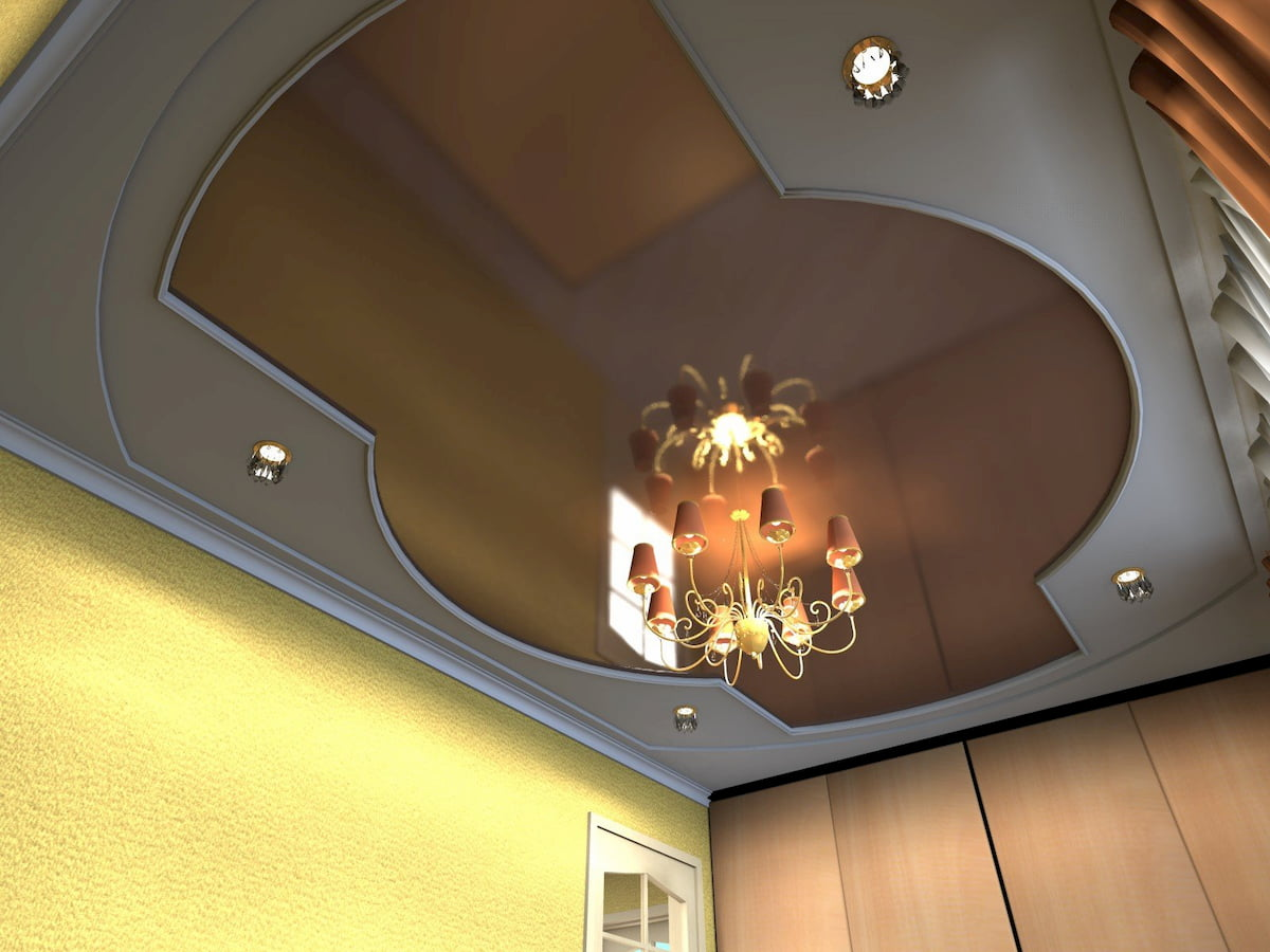 Потолок для дома #17