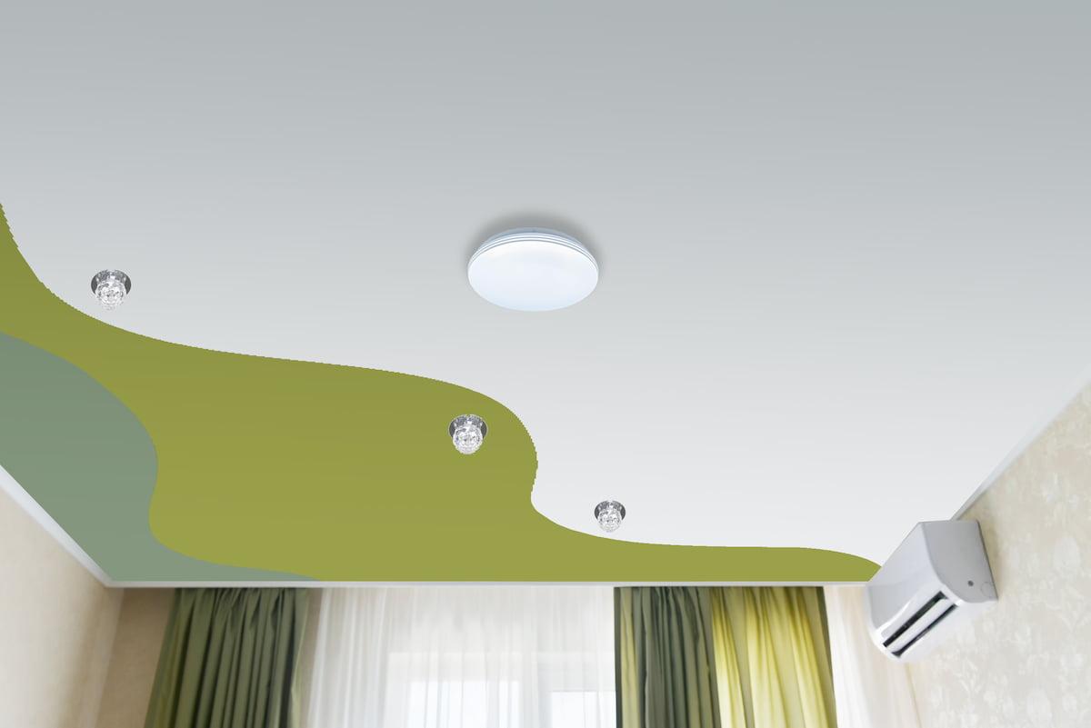 Криволинейный потолок #19