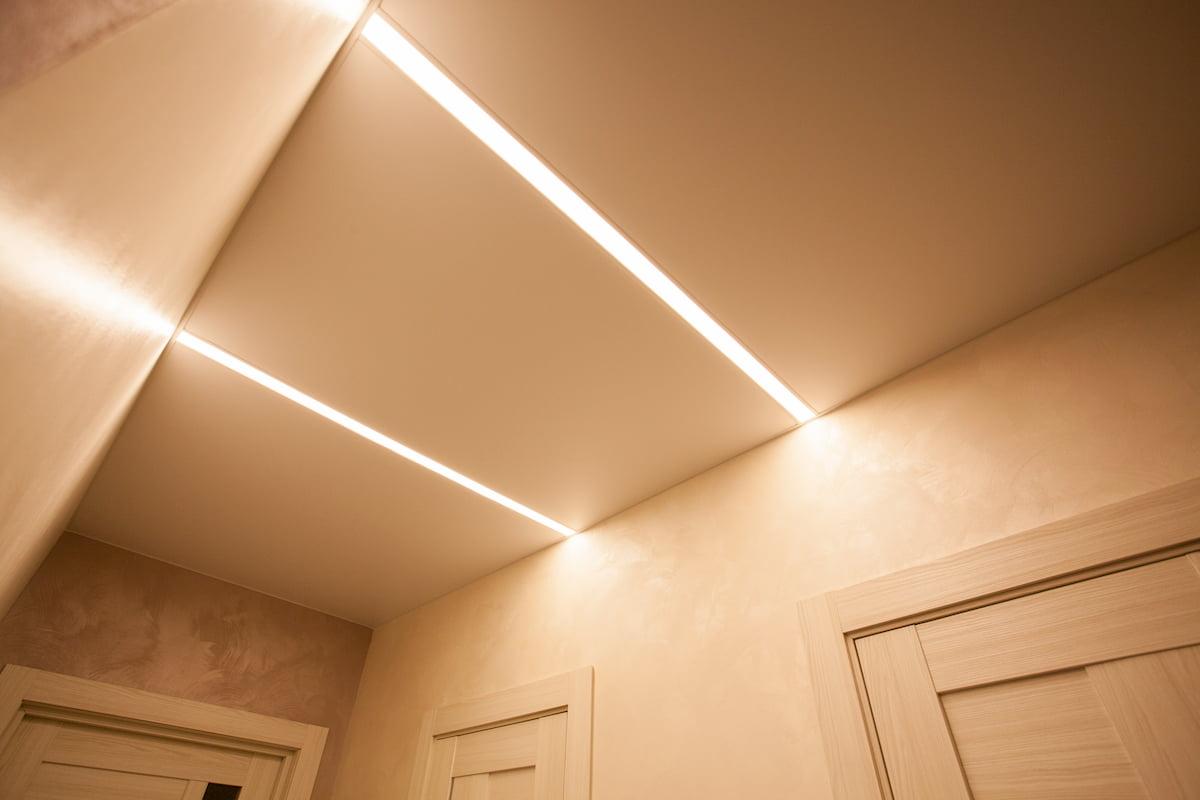 Светодиодный потолок с LED подсветкой #19