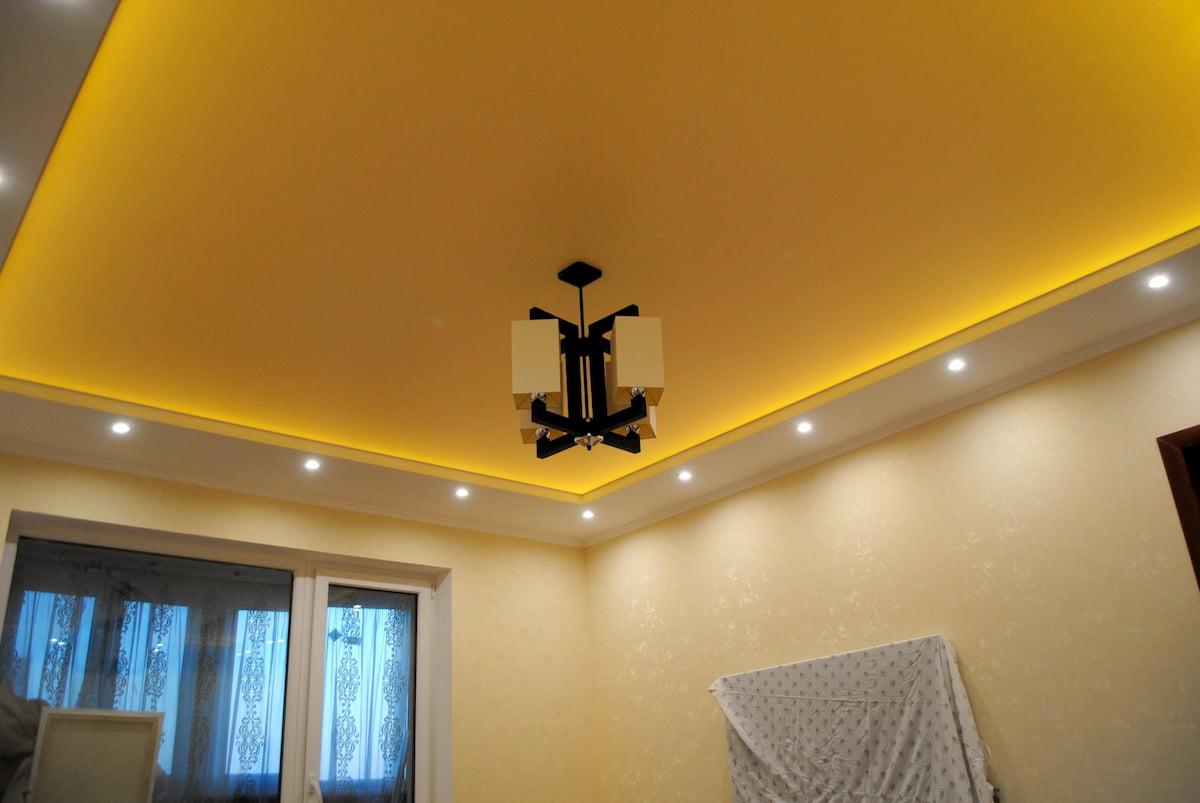Светящийся изнутри потолок #19