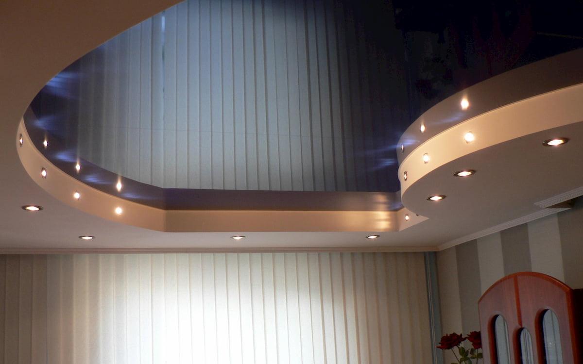 Двухуровневый потолок #19