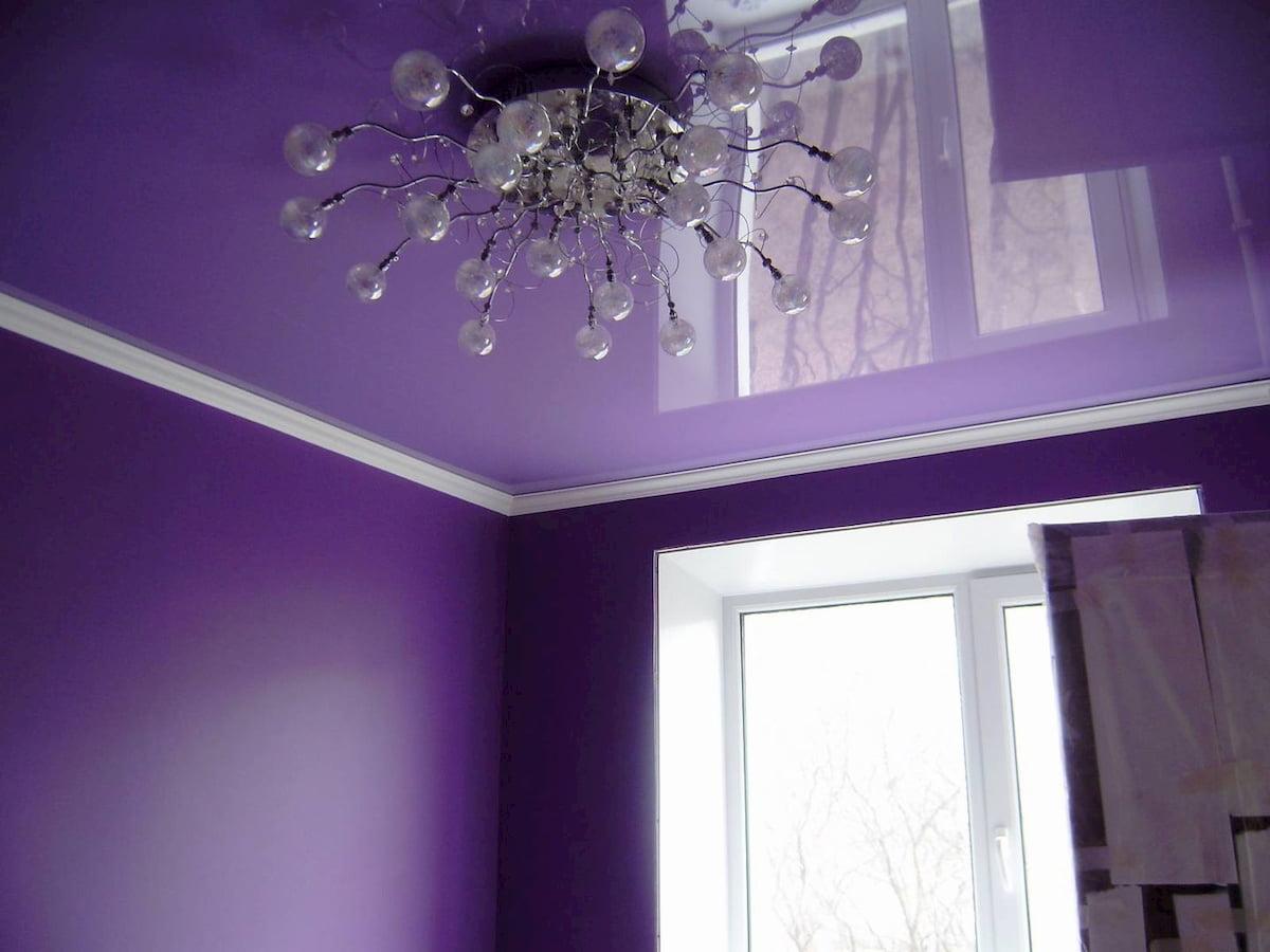 Глянцевый потолок #2