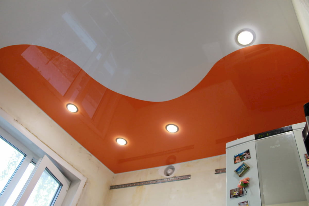 Криволинейный потолок #2