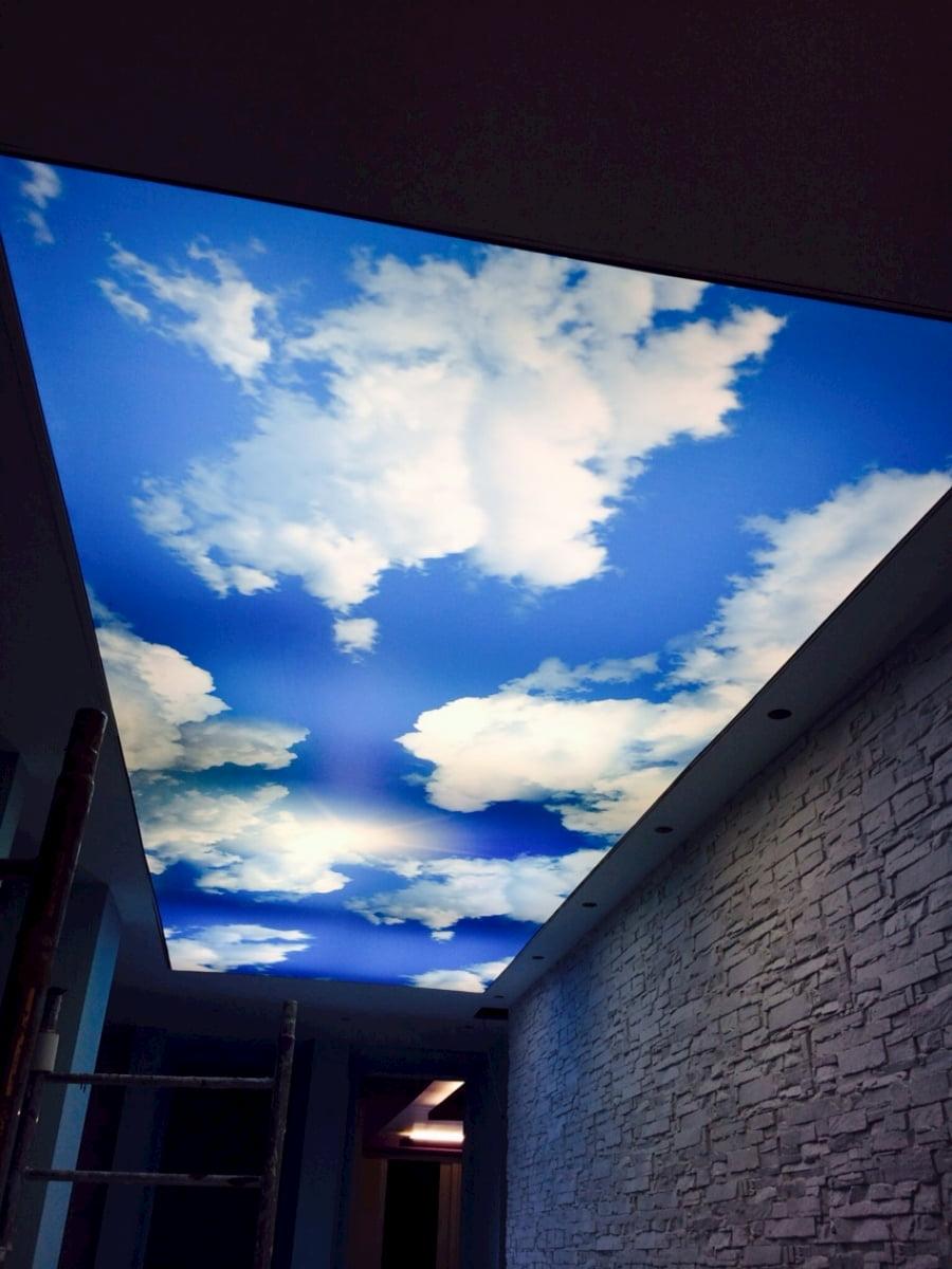 Потолок «Небо с облаками» #2